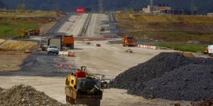 Aplicación de árido siderúrgico en urbanización industrial en Cantabria.