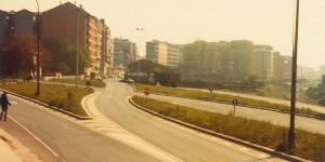 Obra de enlace de acceso a Torrelavega ejecutada en 1980