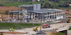 Obra de edificación industrial ejecutada en 2014