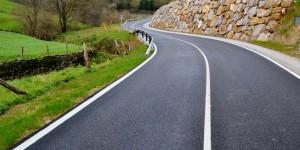 Carretera realizada por la empresa SIEC