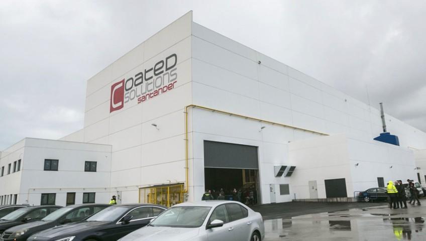 Inauguración de fábrica en el Puerto de Santander 1