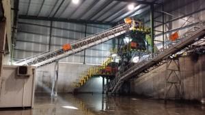 Planta de tratamiento de las escorias en las instalaciones de GSW