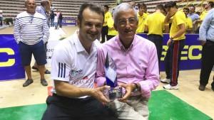 Entrega de premios presidido por Juan de Miguel
