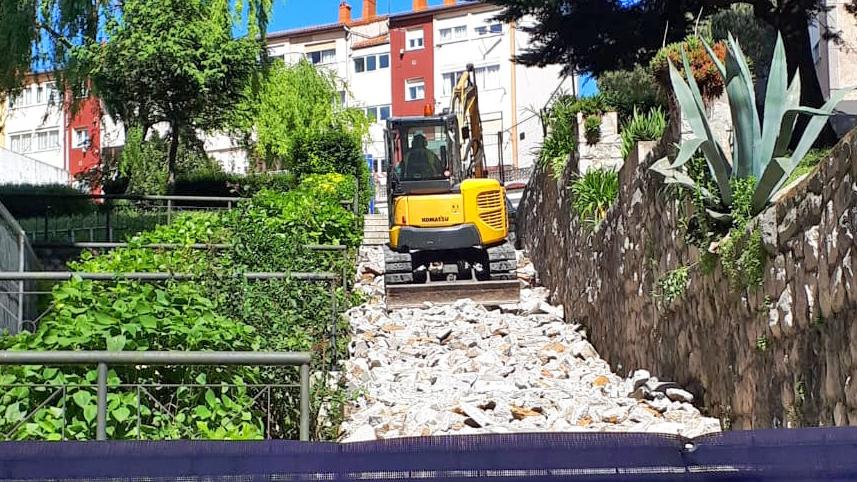 Inicio de las obras en tramo calle Valencia