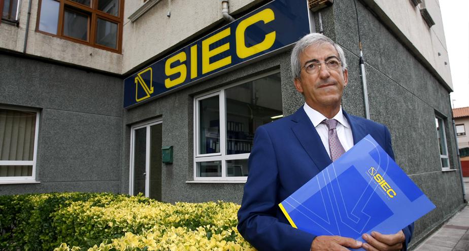 Juan de Miguel, presidente del Grupo SIEC