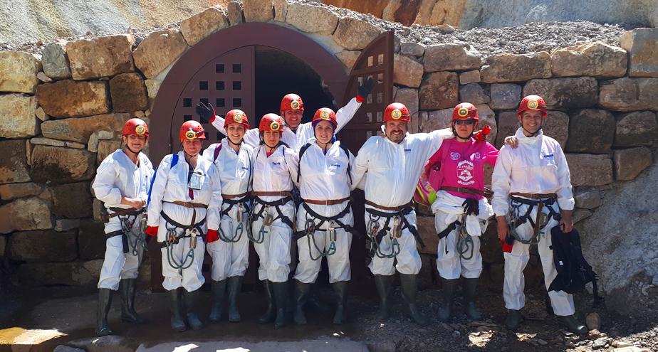 Visita minera Plaza del Monte 1